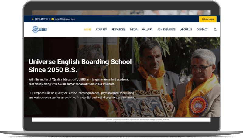 Universe English Boarding School